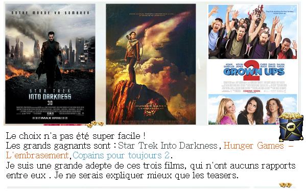 Les 3 films tant attendus