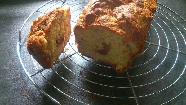 Cake thon tomates séchées