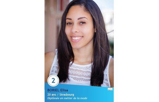 Elisa Boriel, 1ère Dauphine Miss Doubs 2016