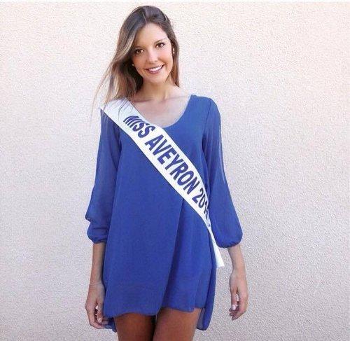 Emeline Bourgoin, Miss Aveyron 2016