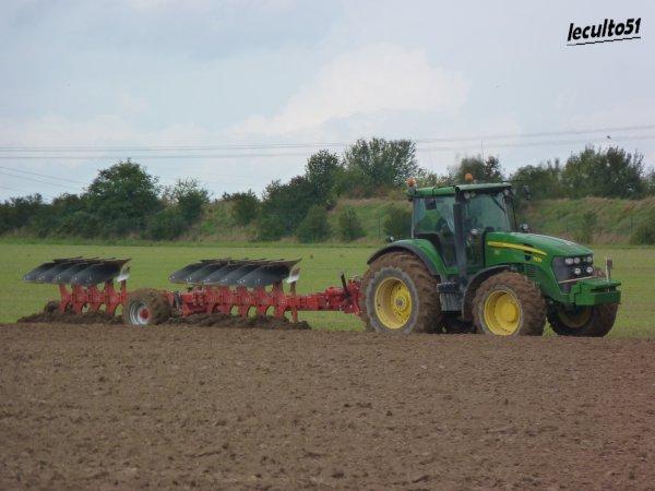 avec plus d'un mois de retard, voici qlq chantier de préparation pour les semis de colza