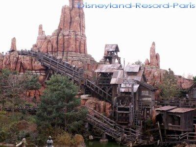 Train de la mine (Big Thunder Mountain)
