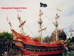 Le bateau du Capitaine Crochet