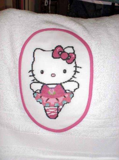 une serviette de bain