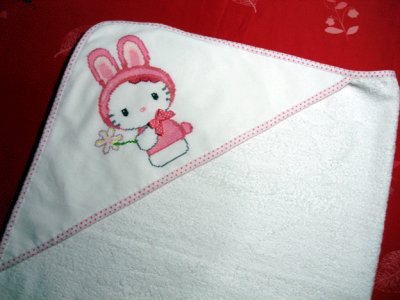 sortie de bain Hello Kitty