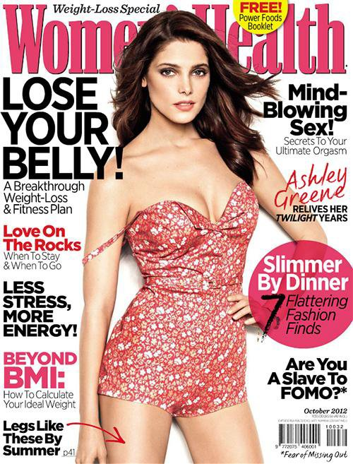 """Ashley pour """"Women's Health"""" Afrique du Sud Octobre 2012"""