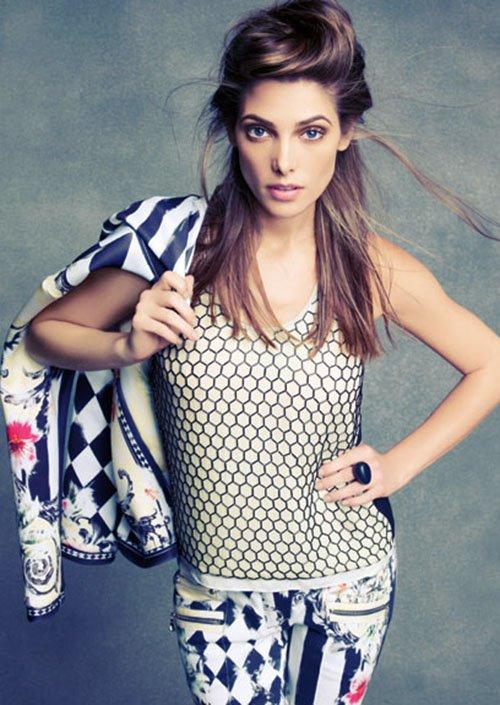 """Ashley pour la magazine """"Marie-Claire"""" Novembre 2012."""