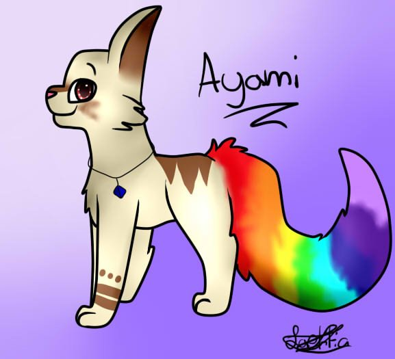 Ayami,pour Croc Blanche x3