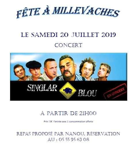 Millevaches et alentours + concert, 20 & 21 juillet 2019