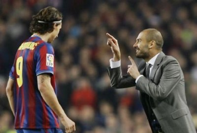 Barça: Ibrahimovic tacle encore Guardiola