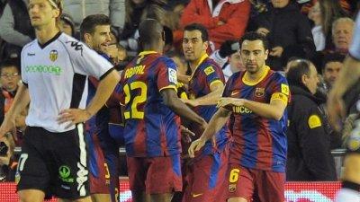Messi fait gagner le Barça