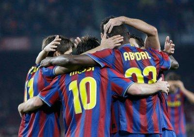 Le Barça en quarts de finale