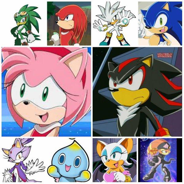 Mes personnages préférés!