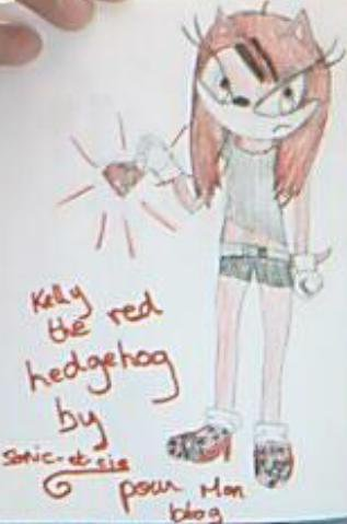 Kelly the Hedgehog