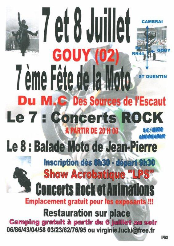 Fête de la Moto de Gouy