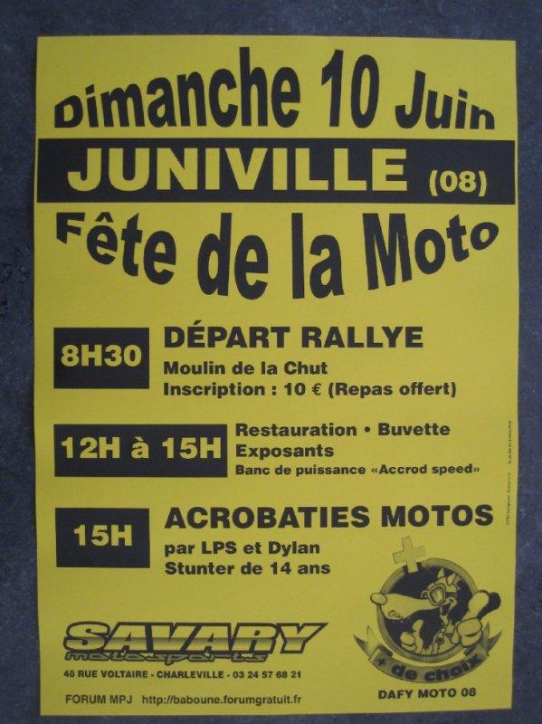 Fête de la Moto de Juniville