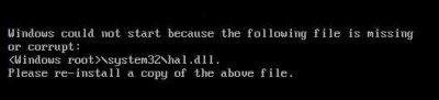 ***   (^c,^)   *** ***  fatal failure..