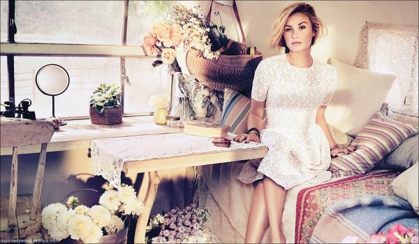 : Le nouveau photoshoot de Demi Lovato :