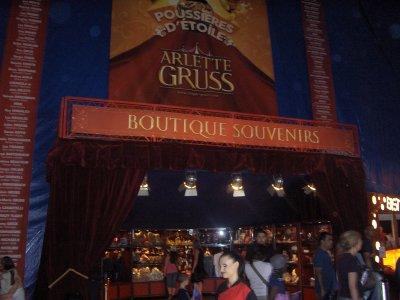 SUITE DU CIRQUE ARLETTE GRUSS STRASBOURG LE 4 JUIN 2011