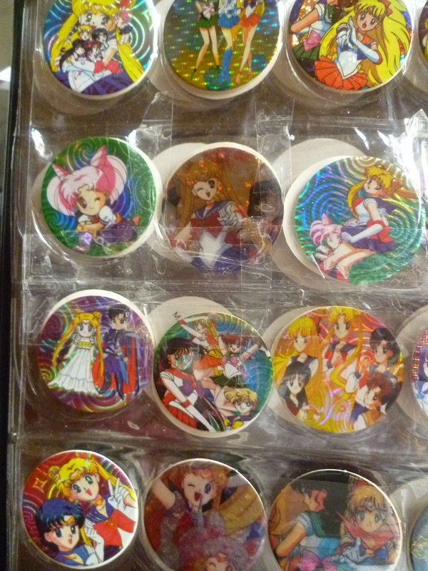 ma collection 13 suite les pogs 4 cm