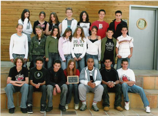 la 4d du collège de crussol