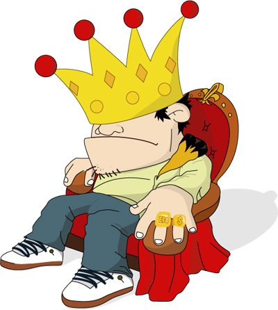 I liKe tO Be A KiNg !!! YeAh MeN