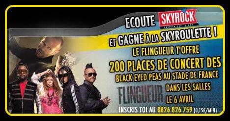 Skyrock roulette: Le Flingueur, Black Eyed Peas