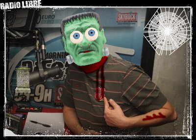 La Radio Libre en version Halloween