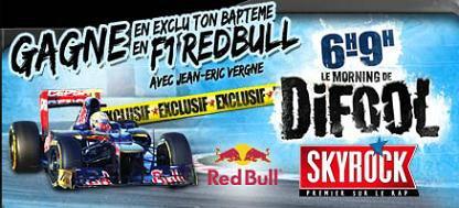 Les Auditeurs de Skyrock & Kenza Farah/ Opération Red Bull