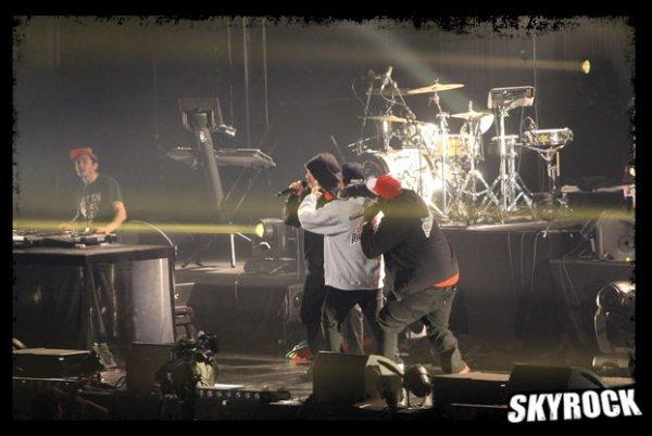 Orelsan en concert avec Skyrock
