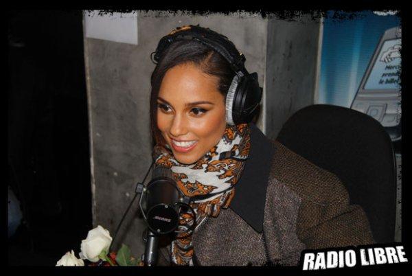 Alicia Keys dans la Radio Libre