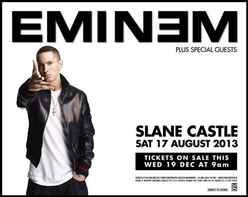Eminem en concert en Ireland