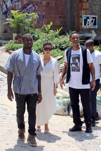 Kanye West visite Rio de Janeiro