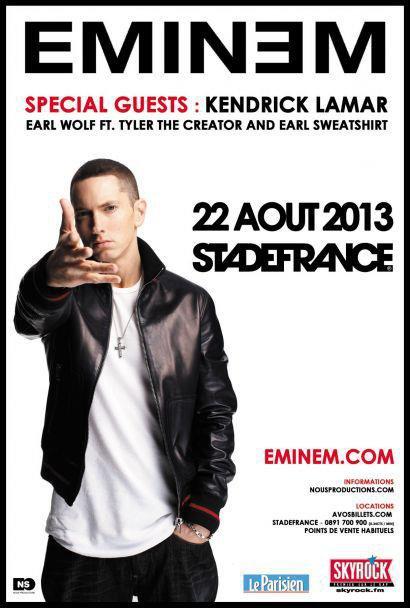 Eminem concert Skyrock