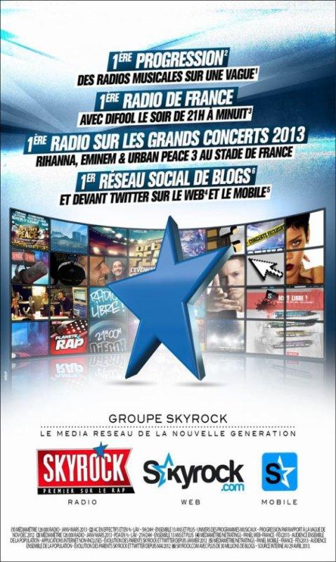 GROUPE SKYROCK - Le média réseau de la nouvelle génération