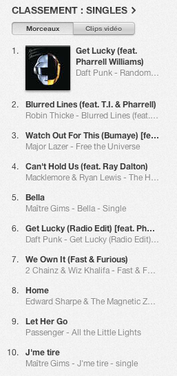 Skyrock - La Playlist N°1 sur iTunes !