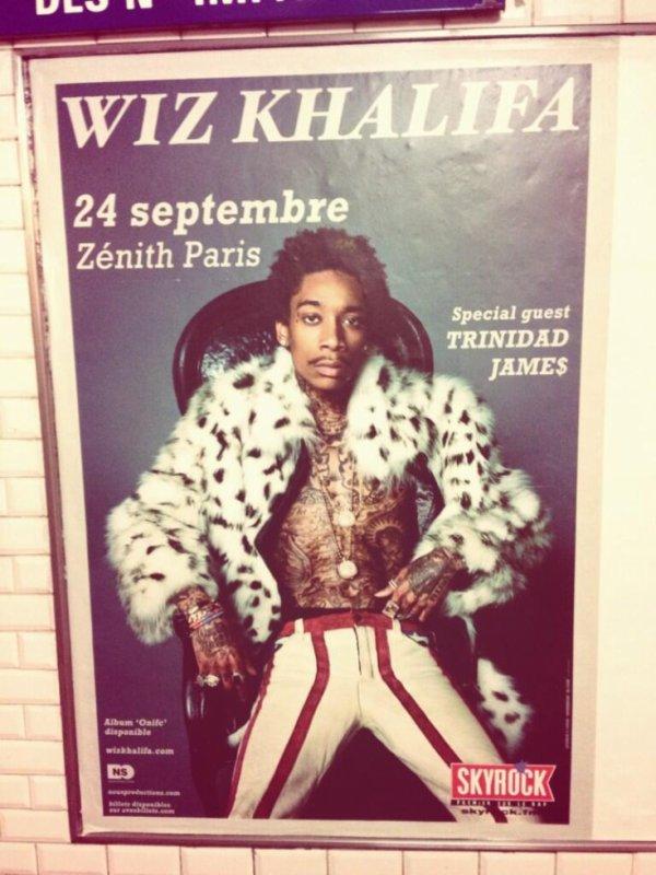 [ Concert Skyrock ] • Wiz Khalifa au Zénith de Paris