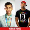Stromae et Rohff sur la scène du Stade de France pour Urban Peace 3