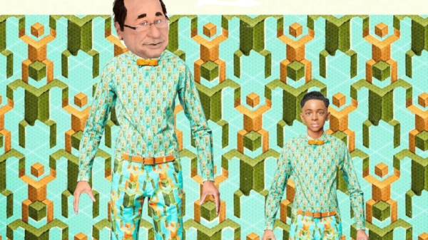 Papaoutai version les Guignols