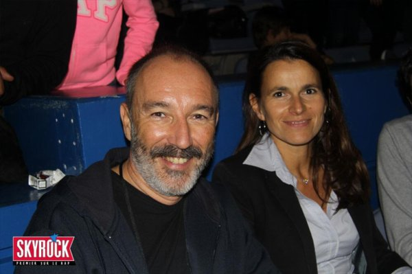 Pierre Bellanger et Aurélie Filippetti Ministre de la Culture et de la Communication
