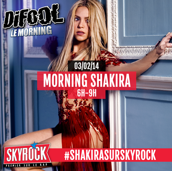 Shakira sur Skyrock
