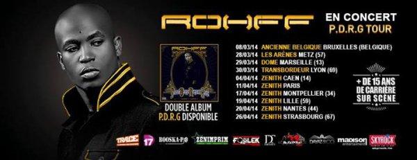 Rohff en tournée avec Skyrock