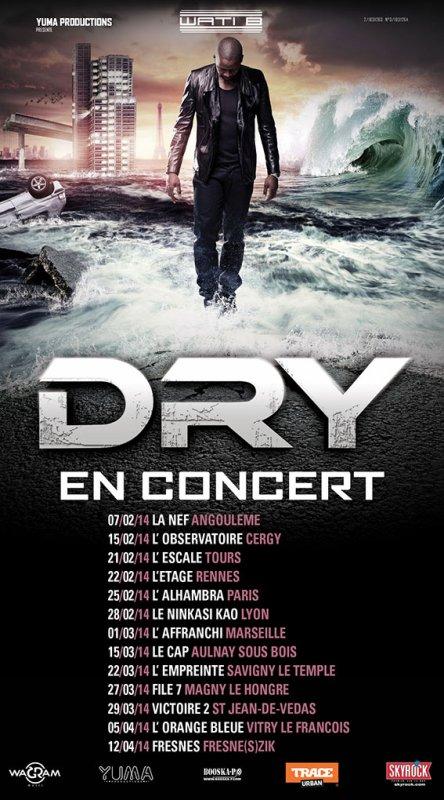 DRY du Wati B en concert Skyrock
