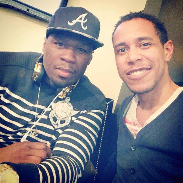 M'rik avec 50 Cent