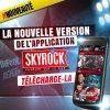 La MAJ de l'application Skyrock !