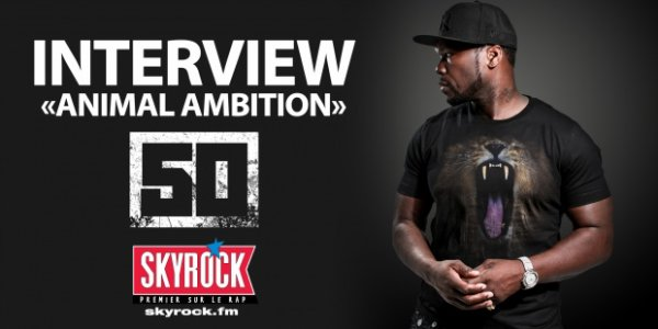 VIDEO :  50 cent l'interview Skyrock
