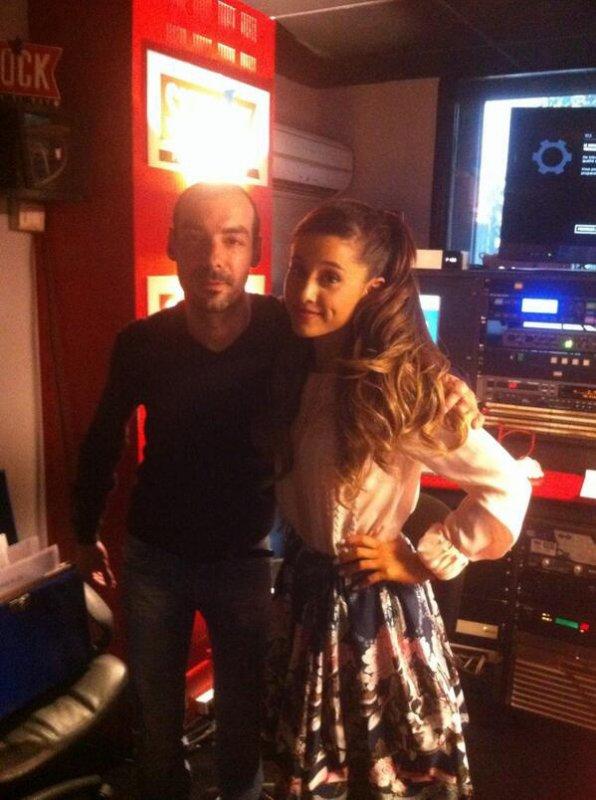 Ariana Grande avec Mehdi