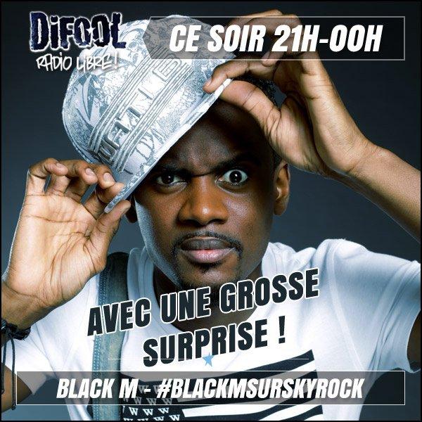 Black M ce soir chez Difool !