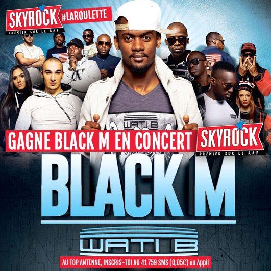 [ La Roulette ] • Black M en concert !
