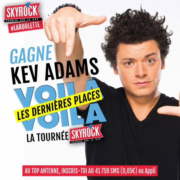 """Kev Adams """"Voilà Voilà"""" Tour"""